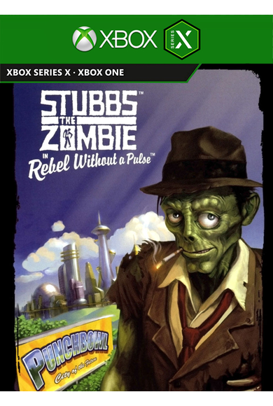 Stubbs the Zombie in Rebel Without a Pulse (Xbox One / Series X|S)
