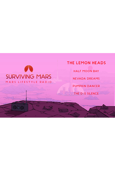 Surviving Mars: Mars Lifestyle Radio (DLC)