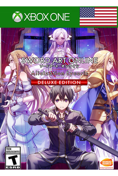 SWORD ART ONLINE Alicization Lycoris - Deluxe Edition (USA) (Xbox One)