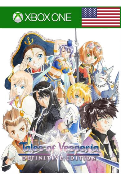 Tales of Vesperia: Definitive Edition (USA) (Xbox One)