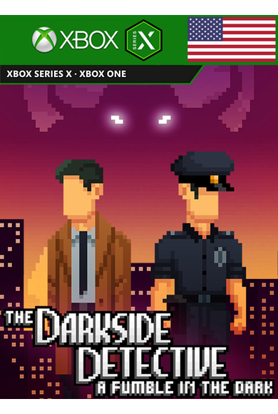 The Darkside Detective: A Fumble in the Dark (USA) (Xbox One / Series X|S)