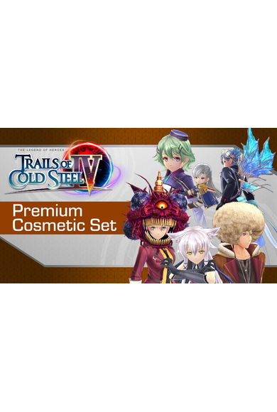 The Legend of Heroes: Trails of Cold Steel IV – Premium Cosmetic Set (DLC)