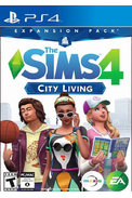 The Sims 4: City Living (DLC) (PS4)