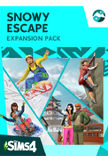 The Sims 4 Snowy Escape Expansion Pack (DLC)
