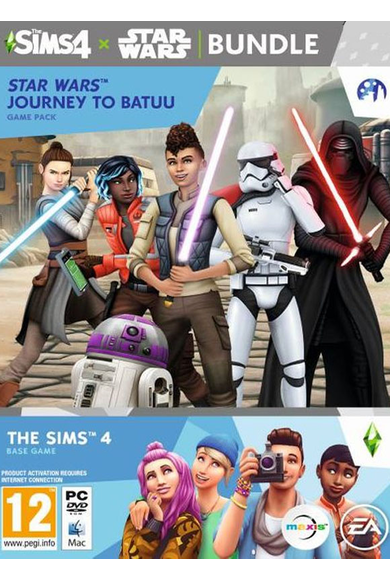 The Sims 4 + Star Wars - Journey to Batuu Bundle