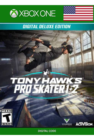 Tony Hawk's™ Pro Skater™ 1 + 2 - Deluxe Edition (USA) (Xbox One)