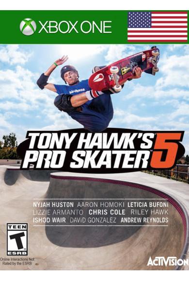 Tony Hawk's Pro Skater 5 (USA) (Xbox One)