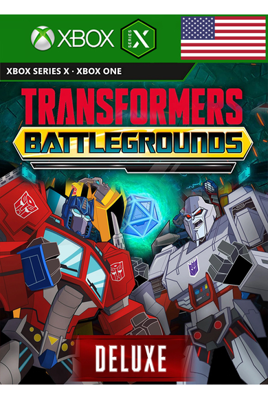 Transformers: Battlegrounds - Digital Deluxe Edition (USA) (Xbox One / Series X)