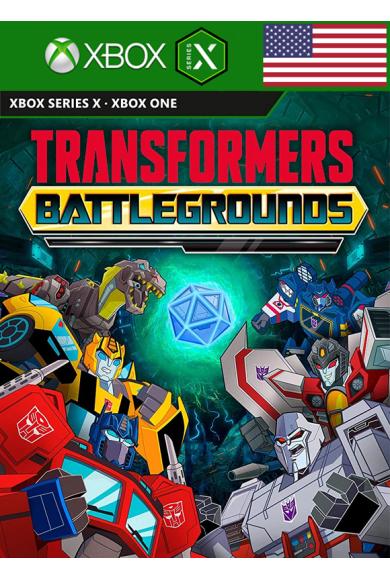 Transformers: Battlegrounds (USA) (Xbox One / Series X)