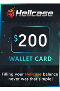 Wallet Card Hellcase.com 200$ (USD)