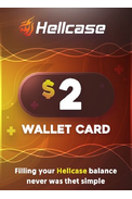 Wallet Card Hellcase.com 2$ (USD)
