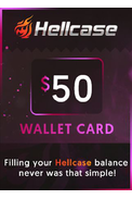 Wallet Card Hellcase.com 50$ (USD)