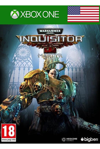 Warhammer 40000: Inquisitor - Martyr (USA) (Xbox One)