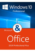 Windows 10 Pro + Office Professional Plus 2019