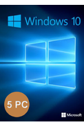 Windows 10 Professional (1Key For 5PC)