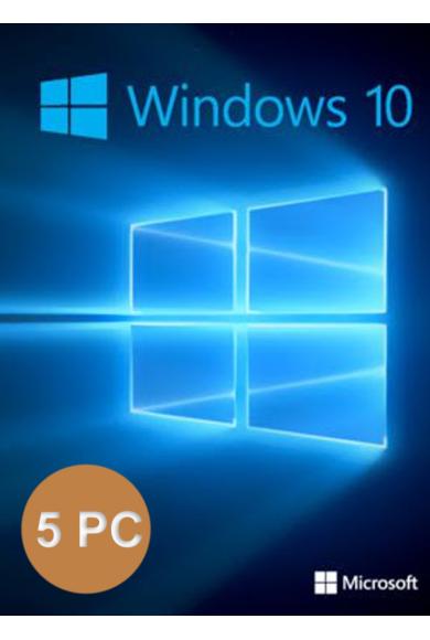 Windows 10 Professional (1Key For 5PC)