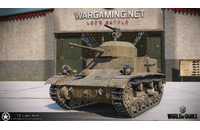 World of Tanks: 100 Gold + T2 Light Tank + 1 Day Premium
