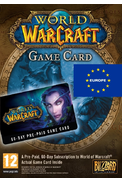 World of Warcraft: Carte 60 Jours Time Card (WOW Europe)
