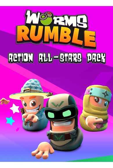 Worms Rumble - Action All-Stars Pack (DLC)