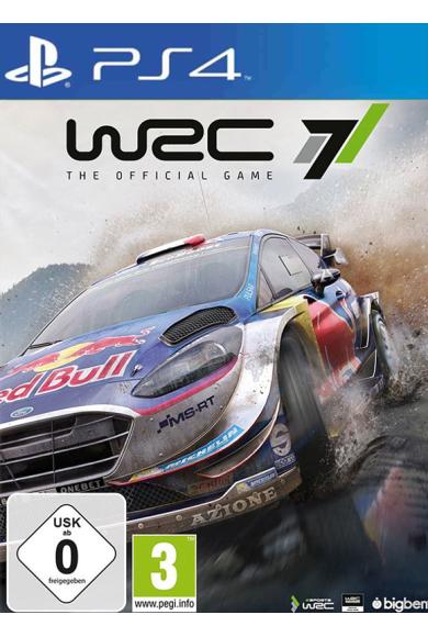 WRC 7 FIA World Rally Championship (PS4)