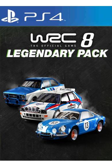 WRC 8 - Legendary Car Pack (DLC) (PS4)