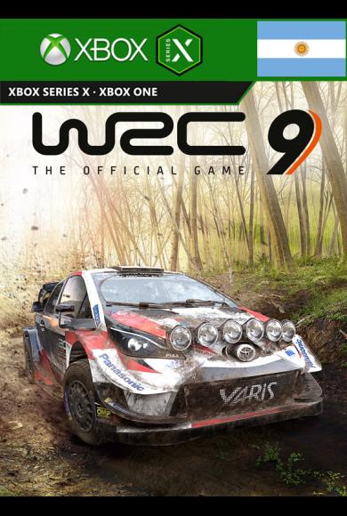 WRC 9 FIA World Rally Championship (Argentina) (Xbox One / Series X|S)