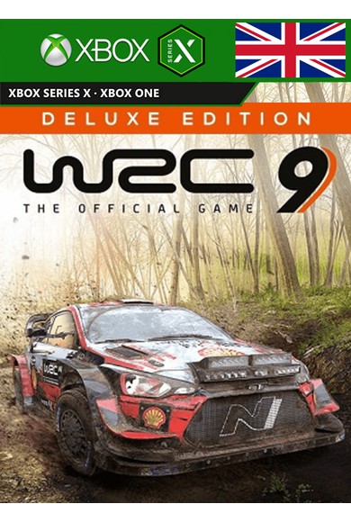 WRC 9 FIA World Rally Championship - Deluxe Edition (UK) (Xbox One / Series X|S)