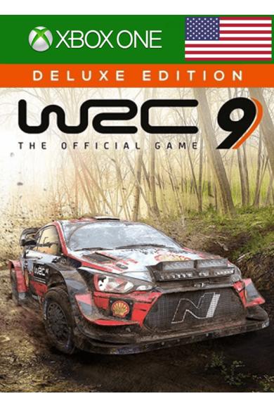 WRC 9 FIA World Rally Championship - Deluxe Edition (USA) (Xbox One)
