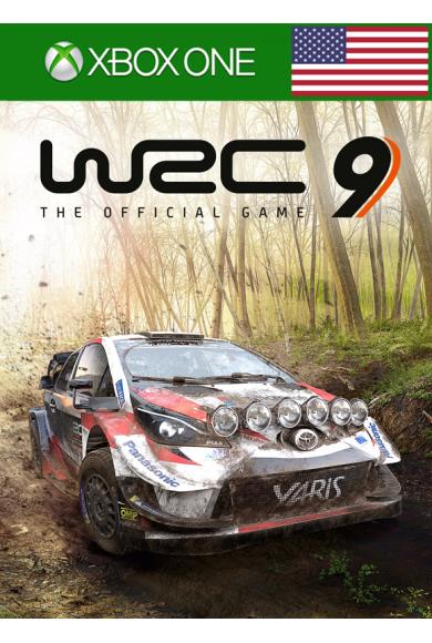 WRC 9 FIA World Rally Championship (USA) (Xbox One)