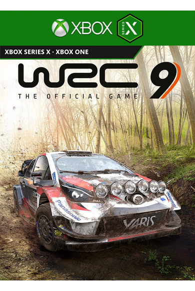 WRC 9 FIA World Rally Championship (Xbox One / Series X|S)