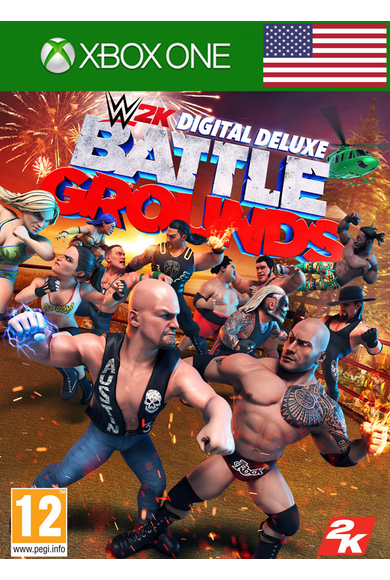 WWE 2K Battlegrounds - Deluxe Edition (USA) (Xbox One)