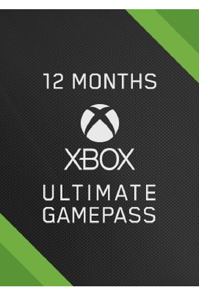 Xbox Game Pass Ultimate  12 Month (Xbox One / PC)