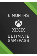 Xbox Game Pass Ultimate  6 Month (Xbox One / PC)
