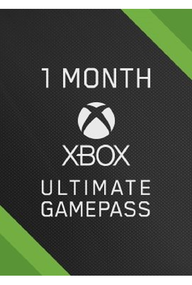 Xbox Game Pass Ultimate 1 Month (Xbox One / PC)