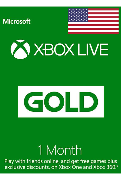 Xbox Live Gold 1 Months (USA)
