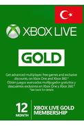 Xbox Live Gold 12 Months (Turkey)