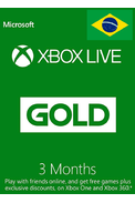Xbox Live Gold 3 Months (Brazil)