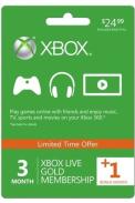 Xbox Live Gold 4 Miesięcy