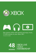 Xbox Live Gold 48 Hours Trial