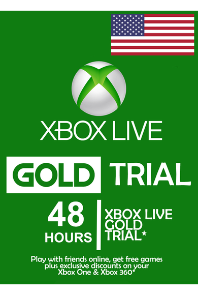 Xbox Live Gold 48 Hours Trial (USA)