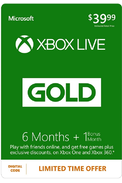 Xbox Live Gold 7 Mois
