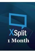 XSplit Premium 1 Month
