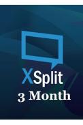 XSplit Premium 3 Month