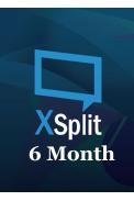 XSplit Premium 6 Month