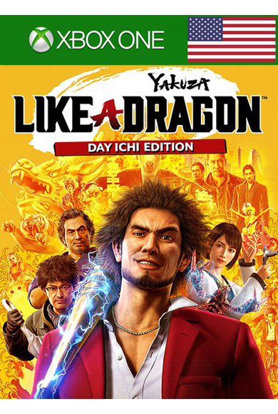 Yakuza: Like a Dragon - Day Ichi Edition (USA) (Xbox One)