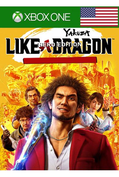 Yakuza: Like a Dragon - Hero Edition (USA) (Xbox One)