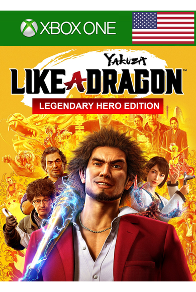 Yakuza: Like a Dragon - Legendary Hero Edition (USA) (Xbox One)
