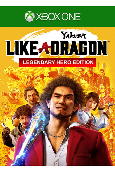 Yakuza: Like a Dragon - Legendary Hero Edition (Xbox One)