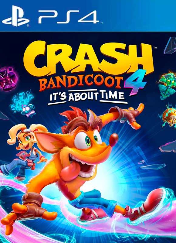 Crash Bandicoot 4: It's About Time Arabic