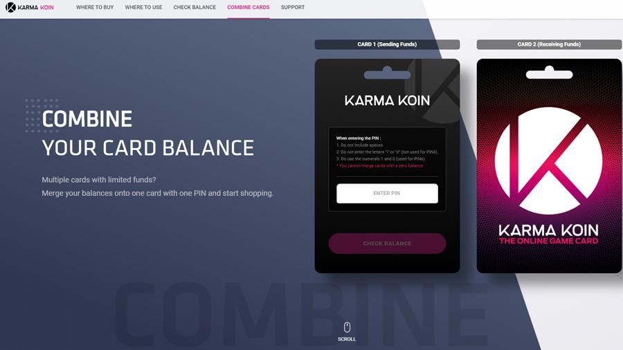 Karma Koins Gift Card 50 Usd Satin Al Cd Key Smartcdkeys